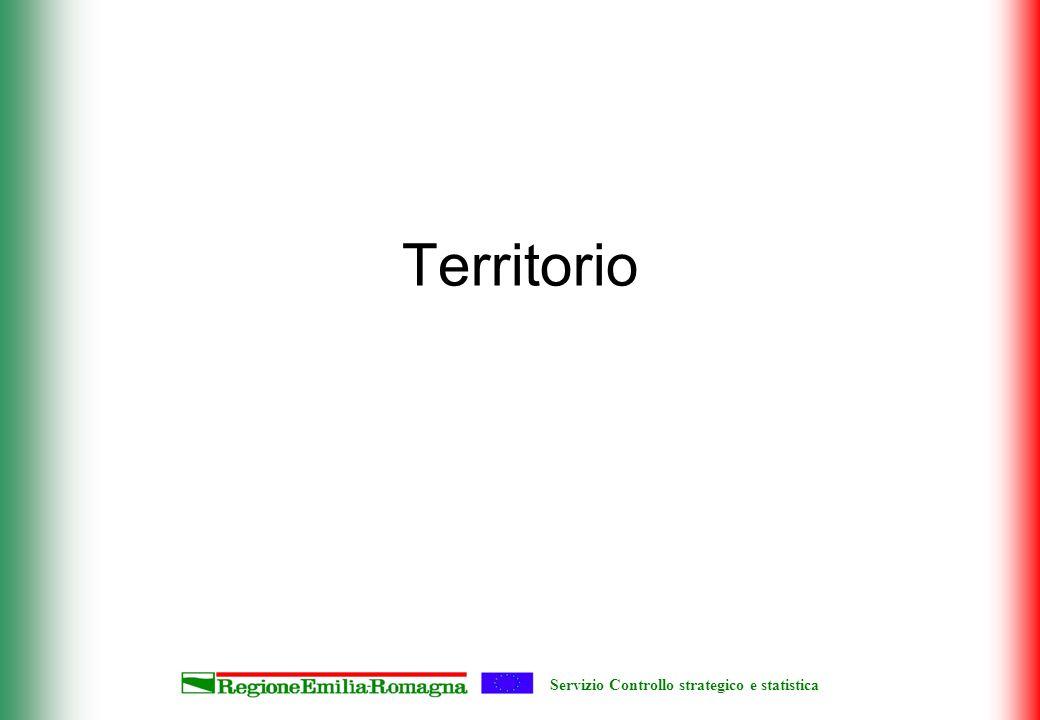 Servizio Controllo strategico e statistica Territorio