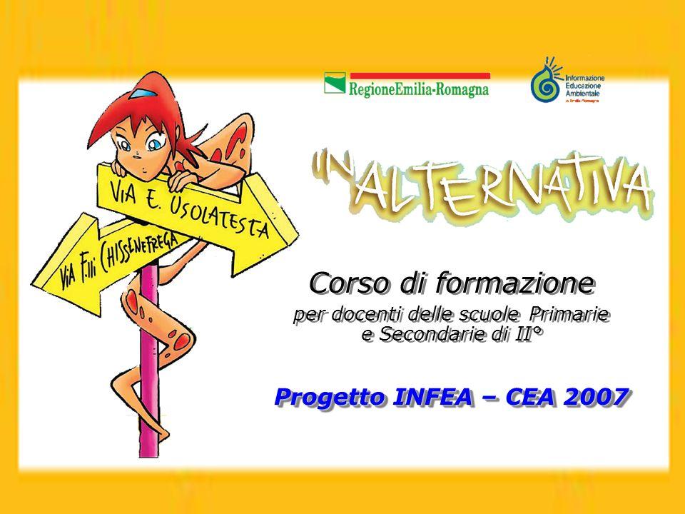 Corso di formazione per docenti delle scuole Primarie e Secondarie di II° Progetto INFEA – CEA 2007 Corso di formazione per docenti delle scuole Prima