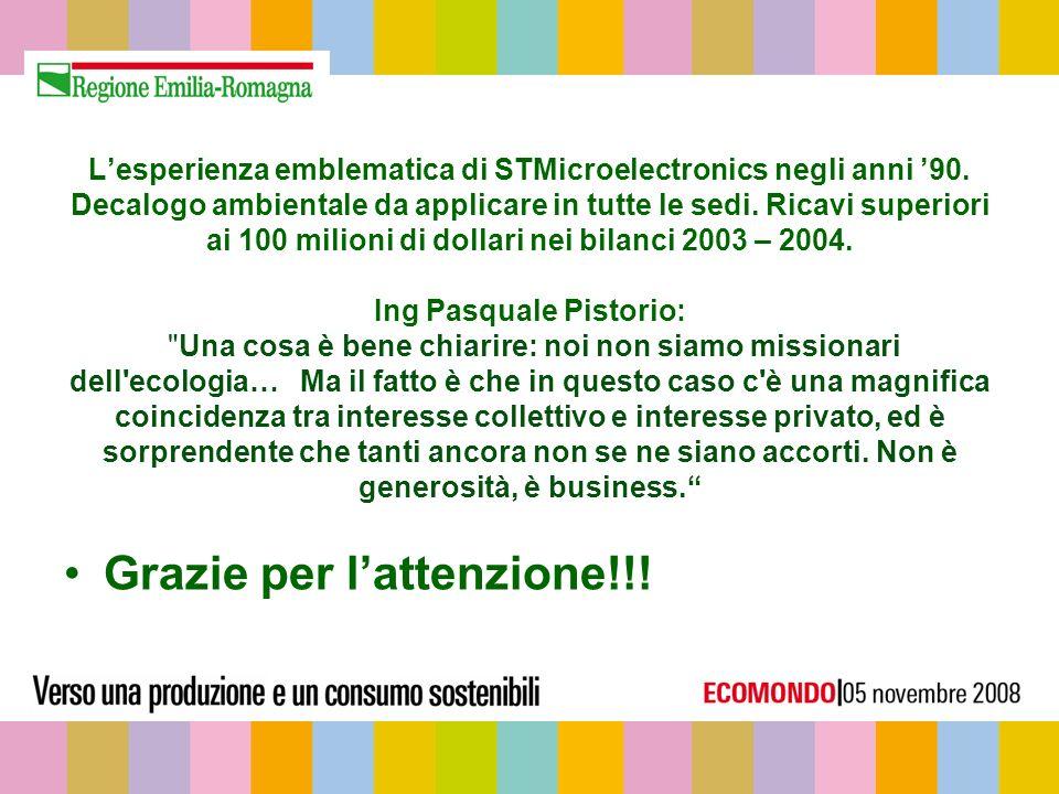 Lesperienza emblematica di STMicroelectronics negli anni 90.