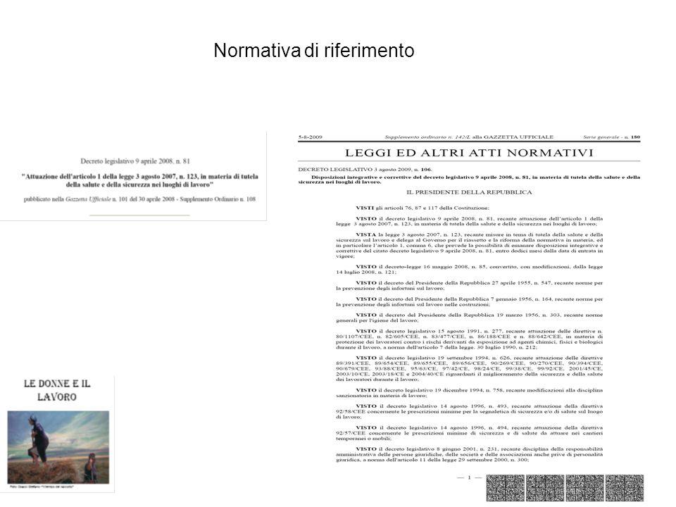 Decreto Legislativo 81/08 Articolo 1.