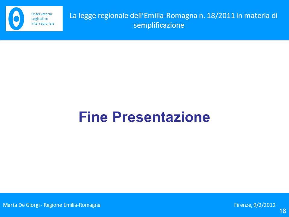 La legge regionale dellEmilia-Romagna n.
