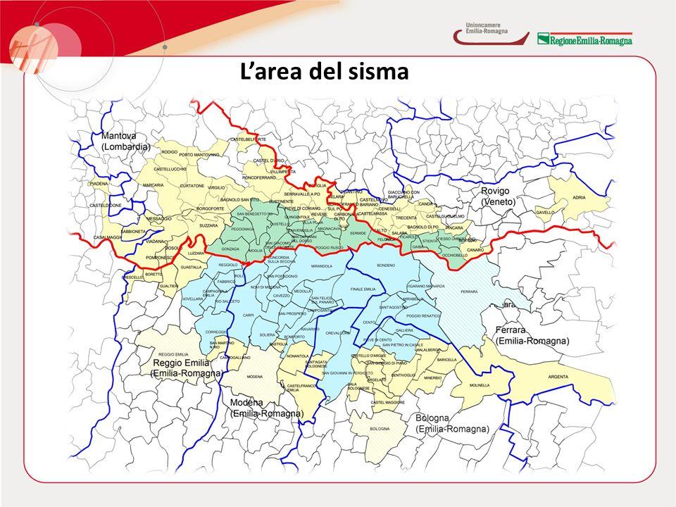 RAPPORTO 2012 SULLECONOMIA REGIONALE Larea del sisma