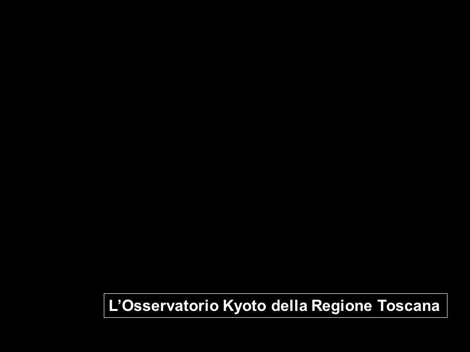 LOsservatorio Kyoto della Regione Toscana