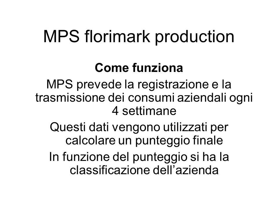 Come funziona MPS prevede la registrazione e la trasmissione dei consumi aziendali ogni 4 settimane Questi dati vengono utilizzati per calcolare un pu