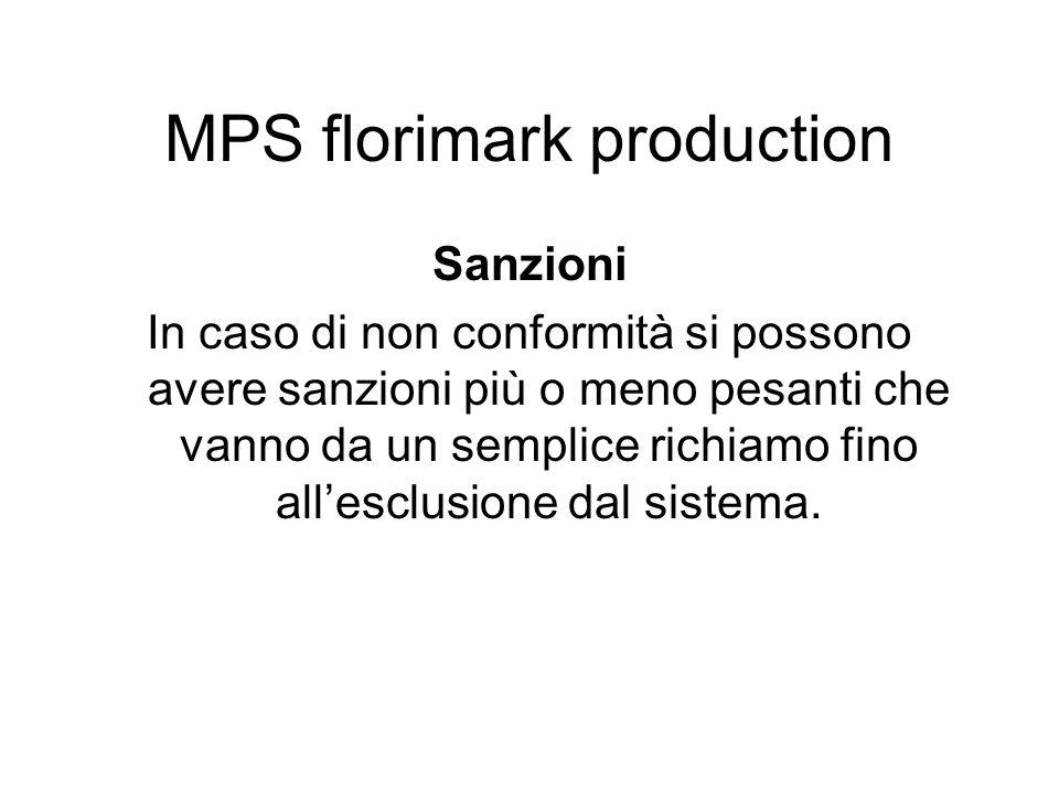 Sanzioni In caso di non conformità si possono avere sanzioni più o meno pesanti che vanno da un semplice richiamo fino allesclusione dal sistema. MPS