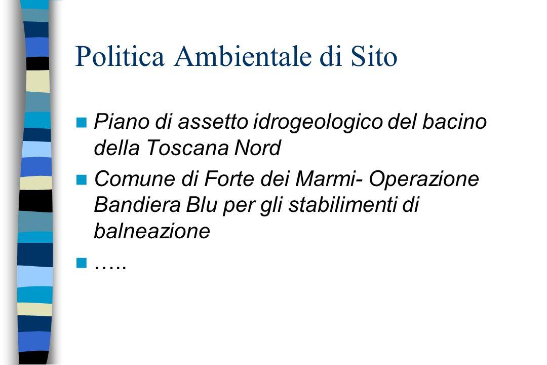 Piano di assetto idrogeologico del bacino della Toscana Nord Comune di Forte dei Marmi- Operazione Bandiera Blu per gli stabilimenti di balneazione ….
