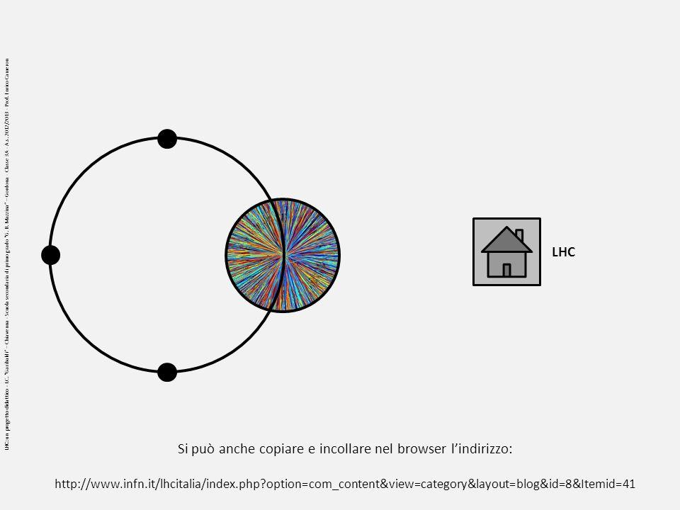 LHC: un progetto didattico - I.C. Garibaldi – Chiavenna - Scuola secondaria di primo grado G.