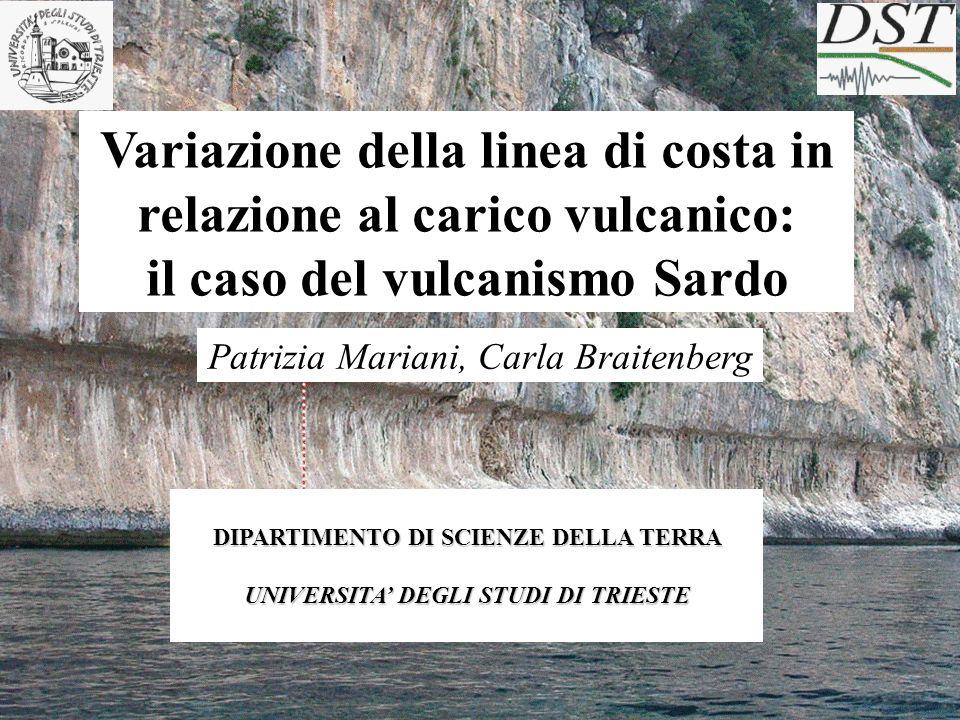 Attività vulcanica sottomarina (Ulzega, Leone and Orrù, 1986)