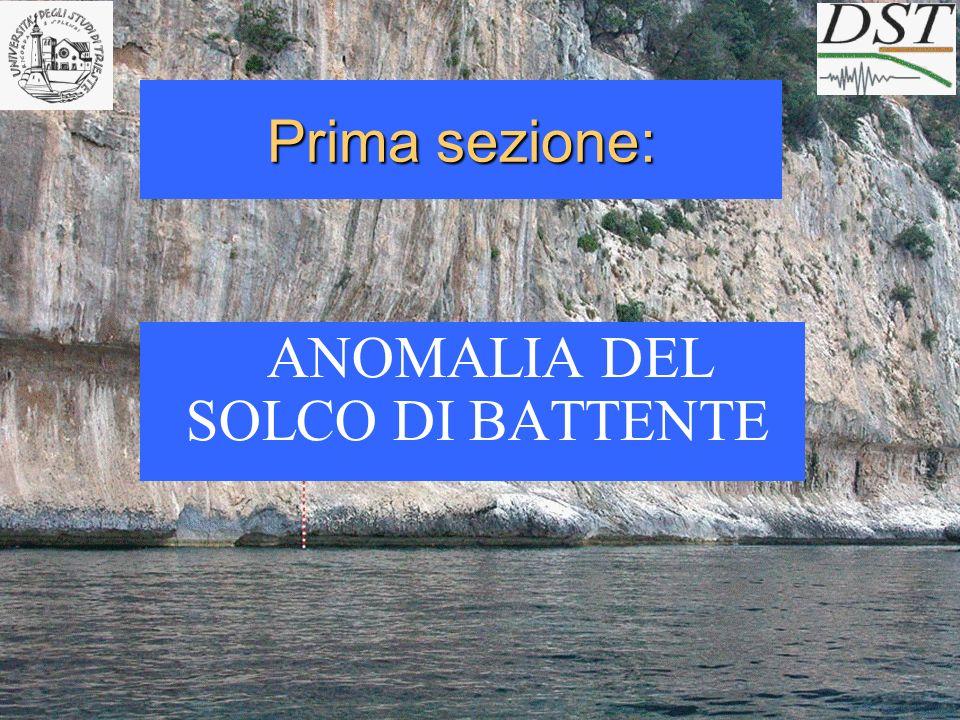 La linea di costa Tirreniana (MIS 5.5) è ubicata a quota maggiore di quella attesa (6-8 m) e presenta inoltre un tilting: da 7.6 m (SUD) a 11.5 (NORD) per 30 km.