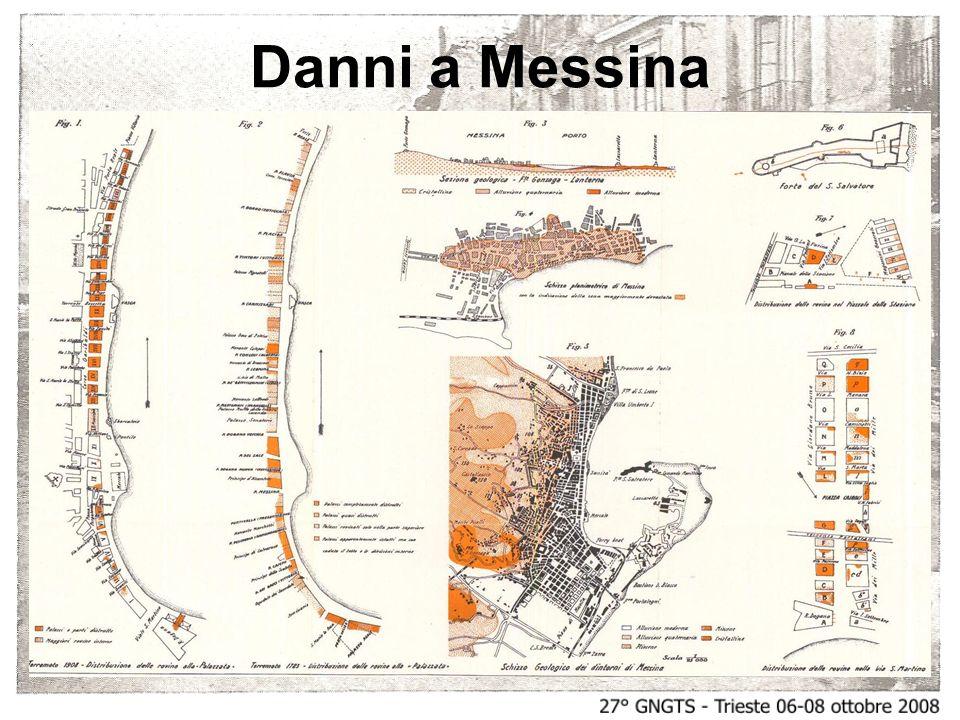 Danni a Messina