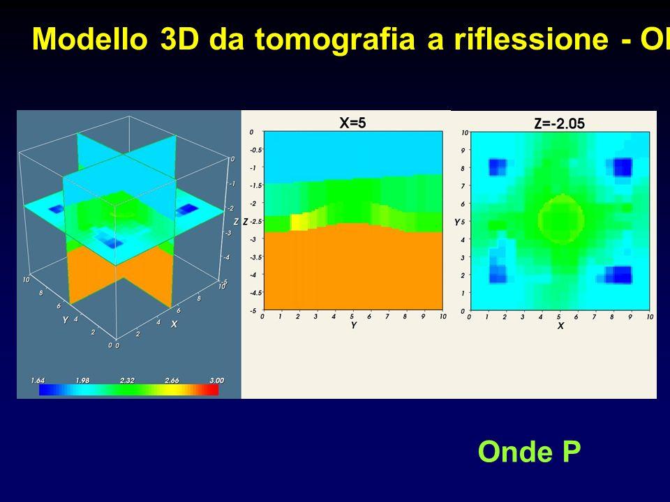 Modello 3D da tomografia a riflessione - Old Onde P