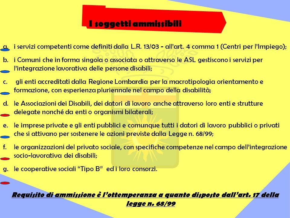 a.i servizi competenti come definiti dalla L.R. 13/03 - allart.