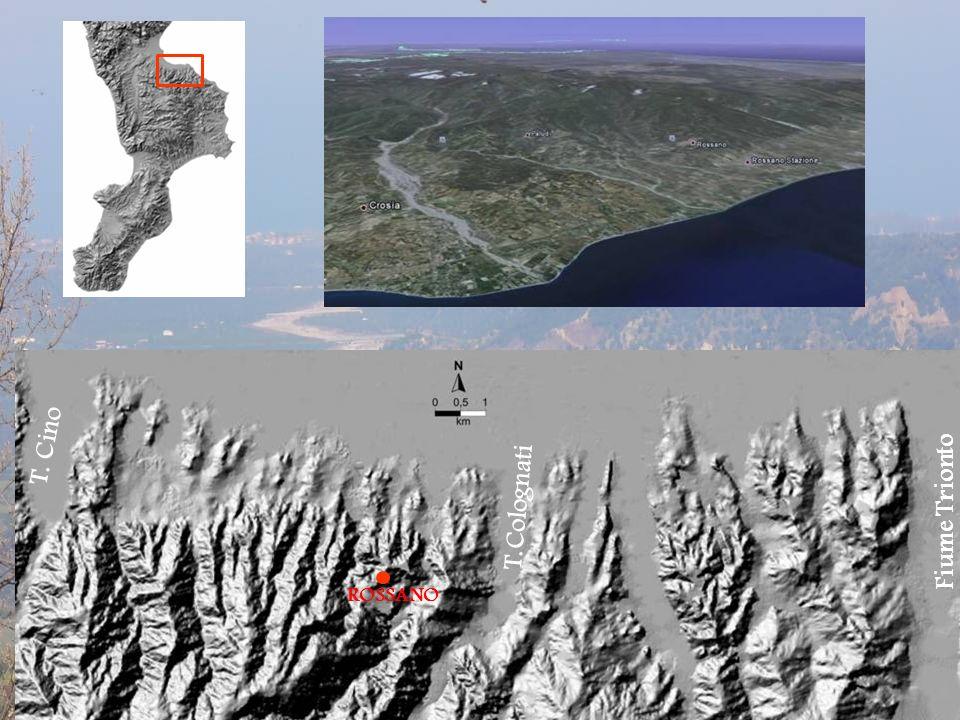 Rilevamento geologico-strutturale (stratigrafia dei depositi quaternari, analisi meso- strutturale) Rilevamento geomorfologico (mappatura e studio dei rapporti di intersezione tra le superfici terrazzate) Caratterizzazione di profili di suolo Metodi