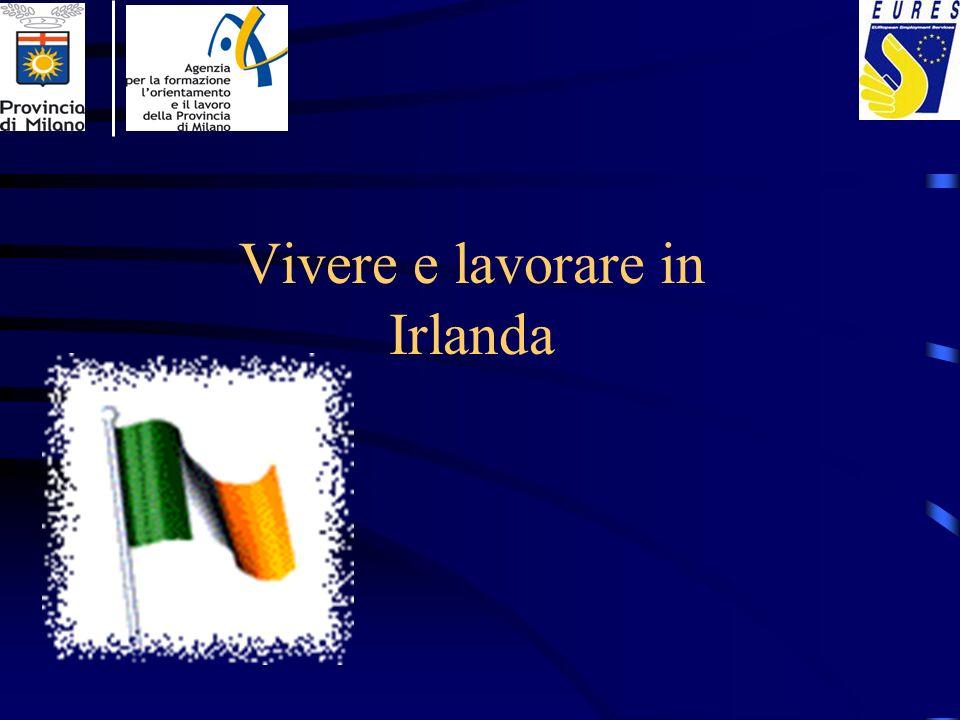 Informazioni generali Irlanda è divisa in due parte: Repubblica di Irlanda (26 contee tradizionali) Nord Irlanda (6 contee che fanno parte del Regno Unito)