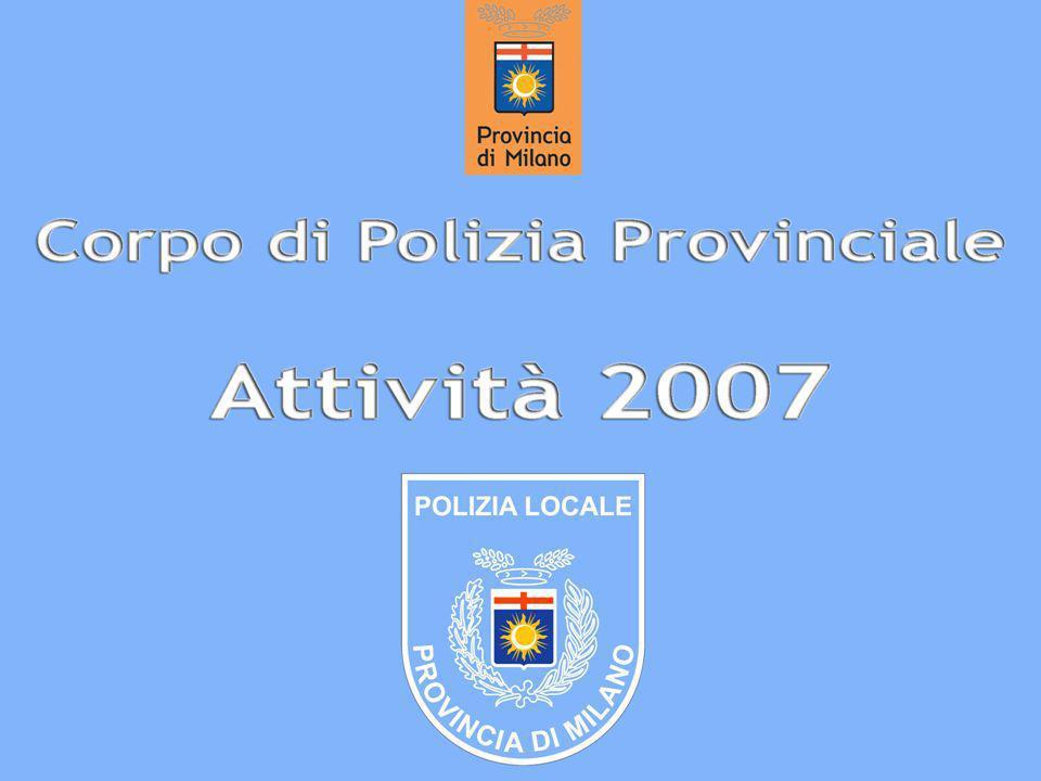 Attività 2007 Polizia provinciale Comando centrale 2