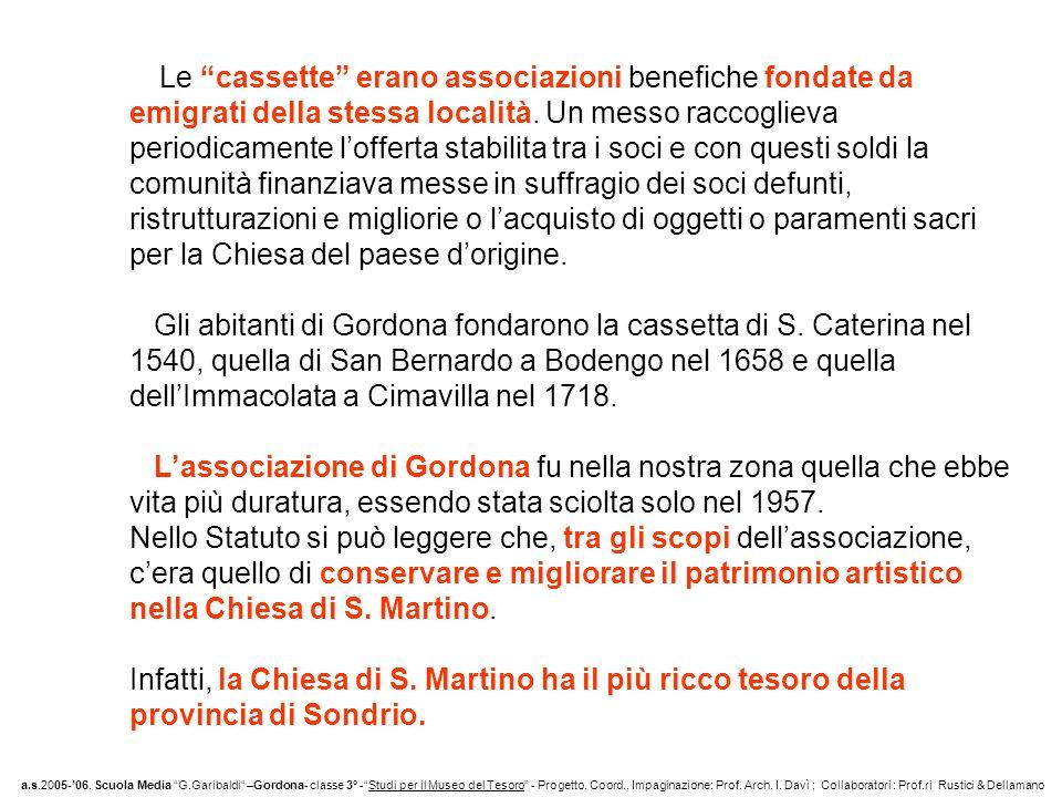 COPERTA LIBRO LITURGICO e LAMPADE a.s.2005-06, Scuola Media G.Garibaldi –Gordona- classe 3° -Studi per il Museo del Tesoro - Progetto, Coord., Impaginazione: Prof.