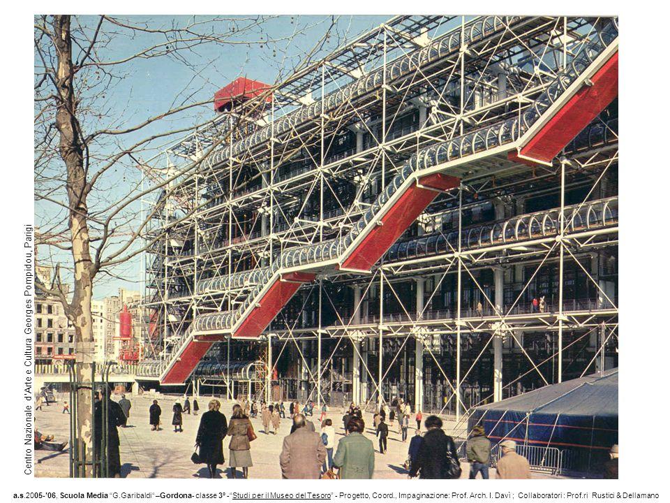 Centro Nazionale d Arte e Cultura Georges Pompidou, Parigi