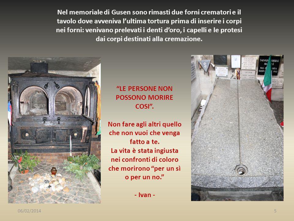 Nel memoriale di Gusen sono rimasti due forni crematori e il tavolo dove avveniva lultima tortura prima di inserire i corpi nei forni: venivano prelev