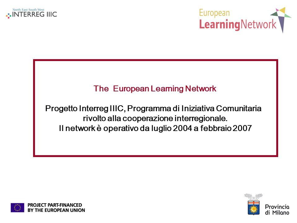 The European Learning Network Progetto Interreg IIIC, Programma di Iniziativa Comunitaria rivolto alla cooperazione interregionale.