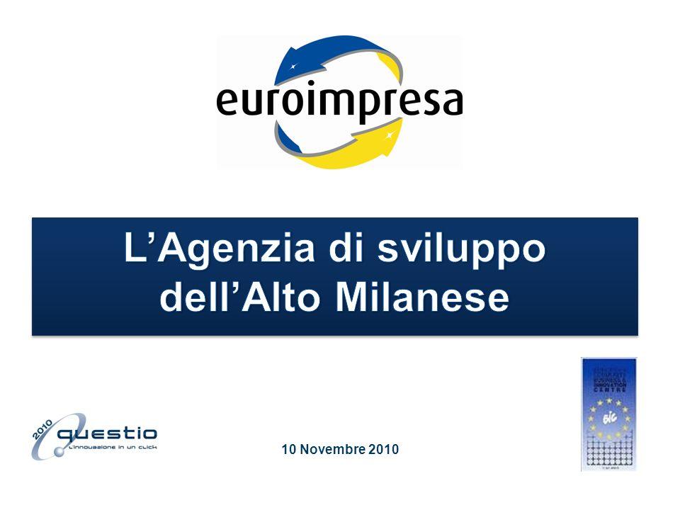 Euroimpresa – agenzia di sviluppo Tecnocity Alto Milanese Mission del BIC: numeri, servizi Euroimpresa come soggetto operativo del Sistema produttivo per lEnergia – Energy cluster Energy Cluster: rete, numeri, modello di sviluppo Il progetto Macc Bam Contenuti