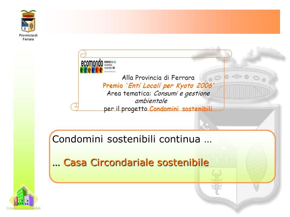 Provincia di Ferrara www.provincia.fe.it/agenda21 www.provincia.fe.it/ecoidea A21news: Notizie sulla sostenibilità Per iscriversi inviare una mail a a21news-subscribe@liste.provincia.fe.it Contatti