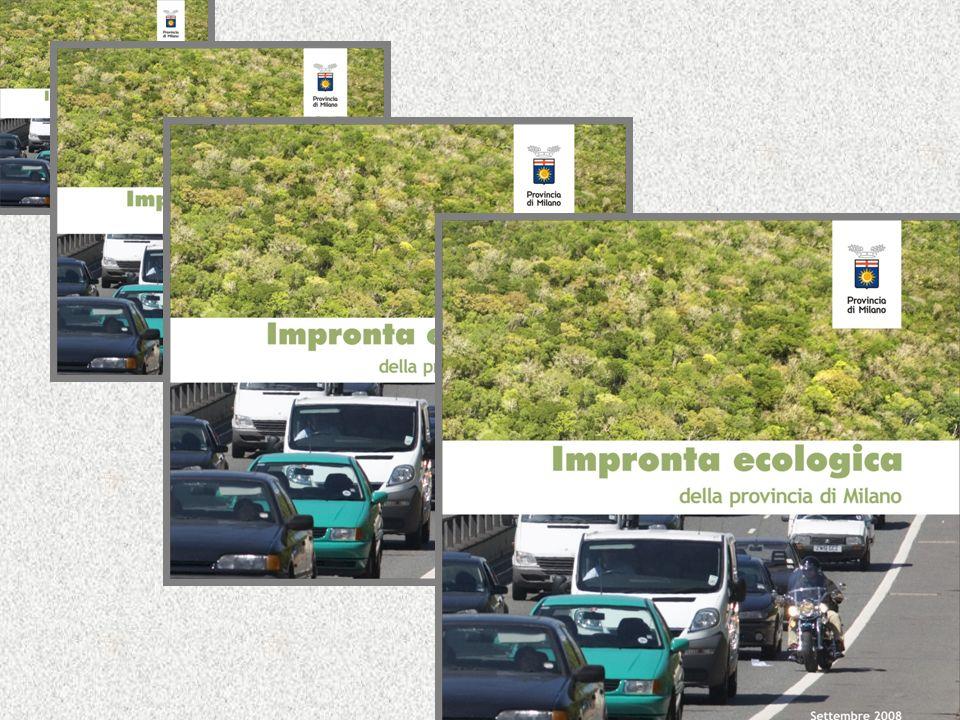 Impronta ecologica della provincia di Milano Le componenti: _ Cibo29 % _ Abitazione14 % _ Mobilità17 % _ Beni26 % _ Servizi, altro15 %
