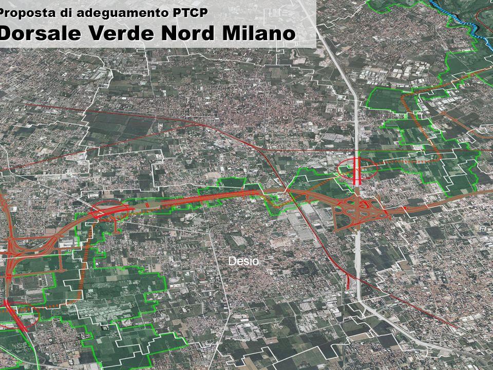 Desio Proposta di adeguamento PTCP Dorsale Verde Nord Milano