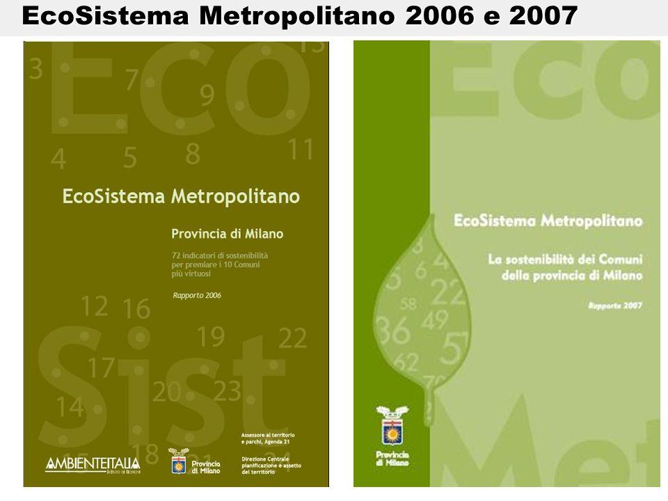 EcoSistema Metropolitano 2006 e 2007 EcoSistema Metropolitano 2006 e 2007