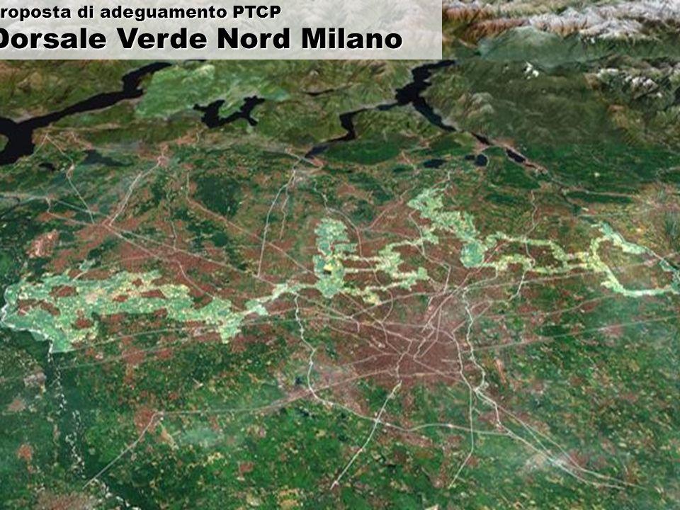 Proposta di adeguamento PTCP Dorsale Verde Nord Milano