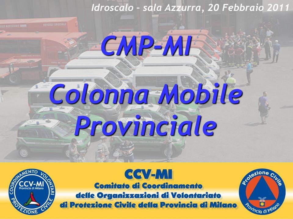 CMP-MI Colonna Mobile Provinciale Idroscalo – sala Azzurra, 20 Febbraio 2011
