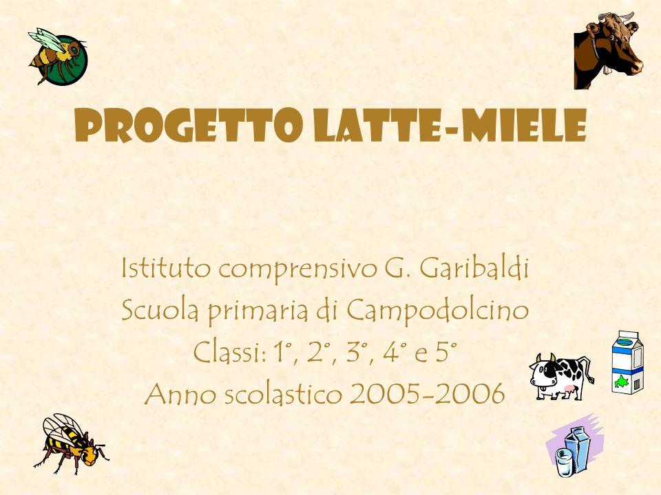 PROGETTO LATTE-MIELE Istituto comprensivo G.