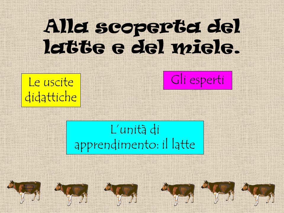 Lunità di apprendimento: il latte.MACROSTRUTTURA: PRIMA U.D.A.