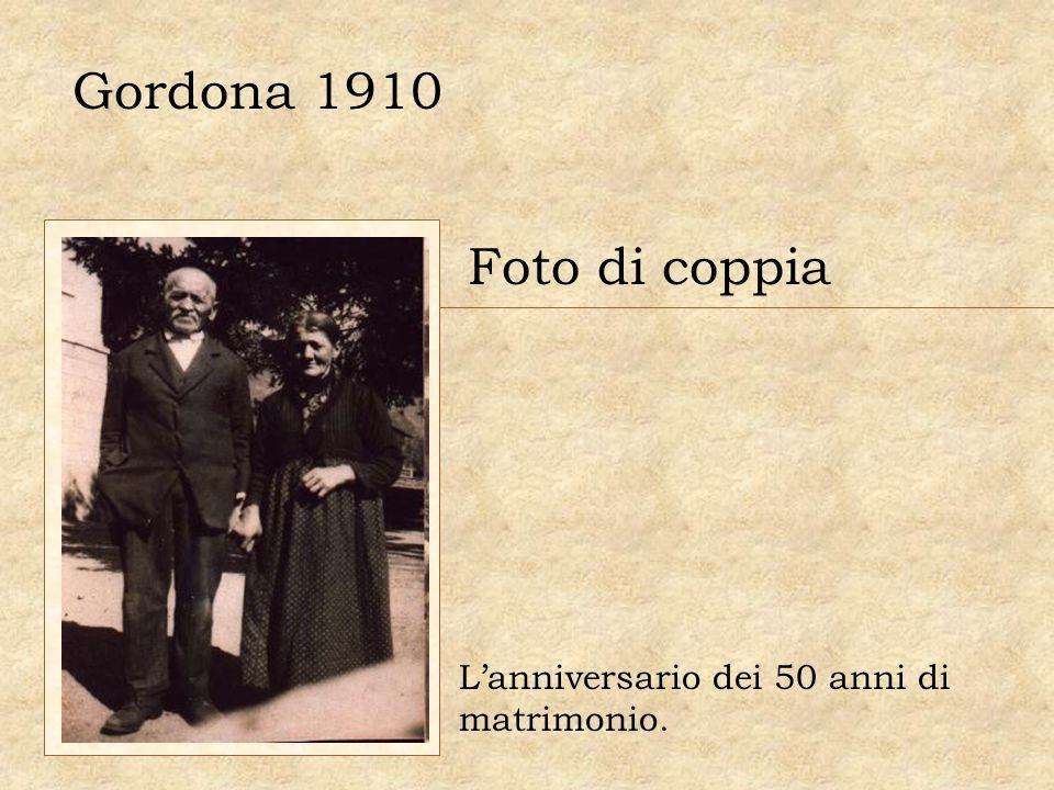 Gordona 1910 Foto di coppia Lanniversario dei 50 anni di matrimonio.