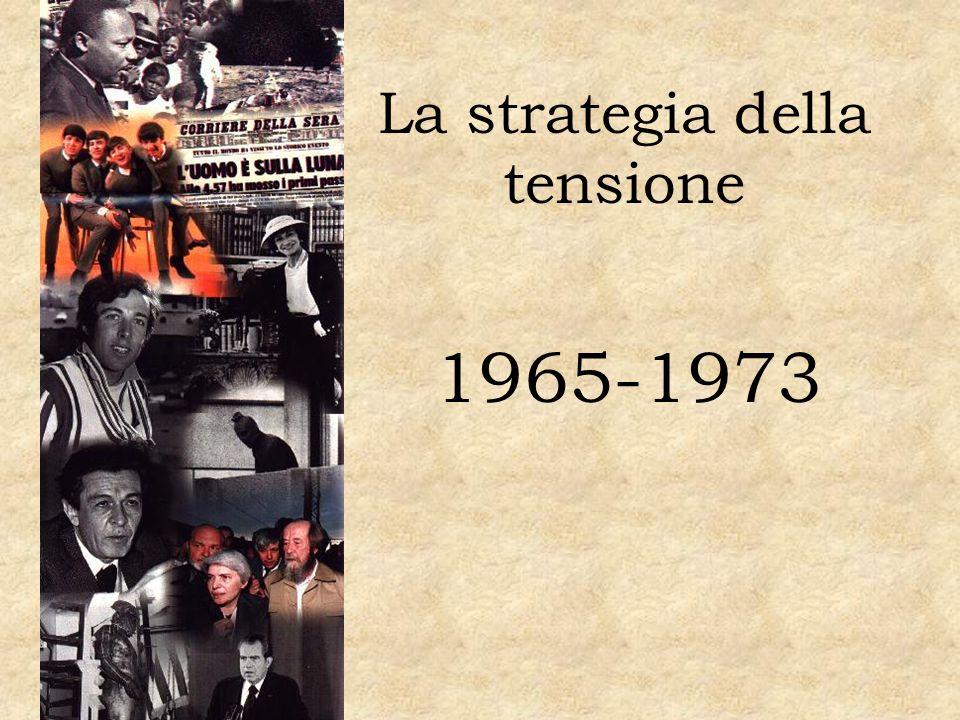 La strategia della tensione 1965-1973