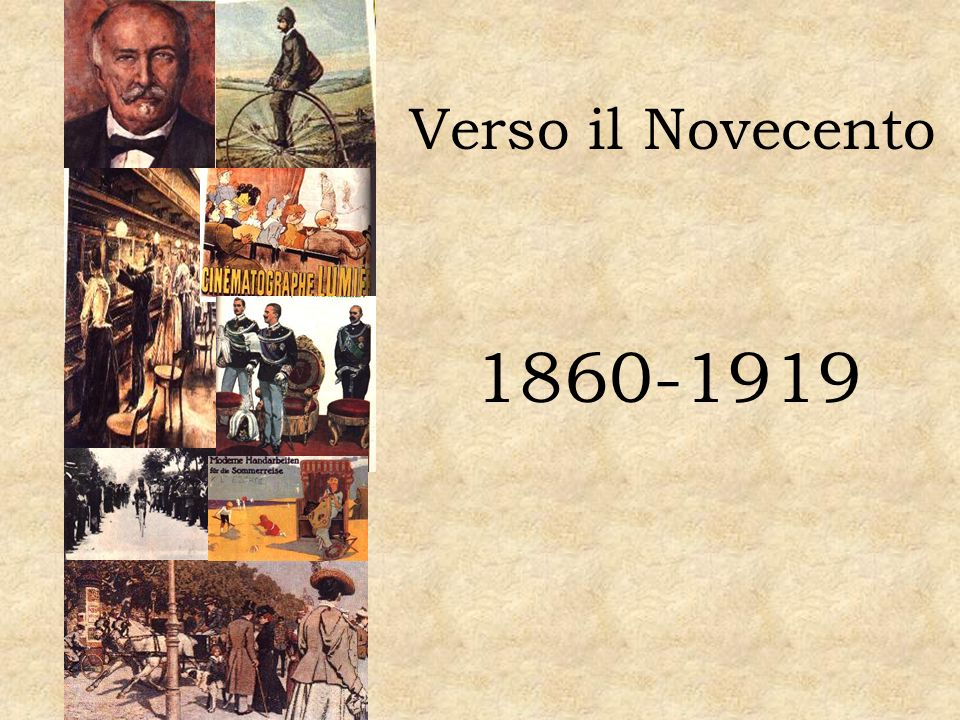 1860-1919 Proclamazione dell unita d Italia.Firenze capitale.
