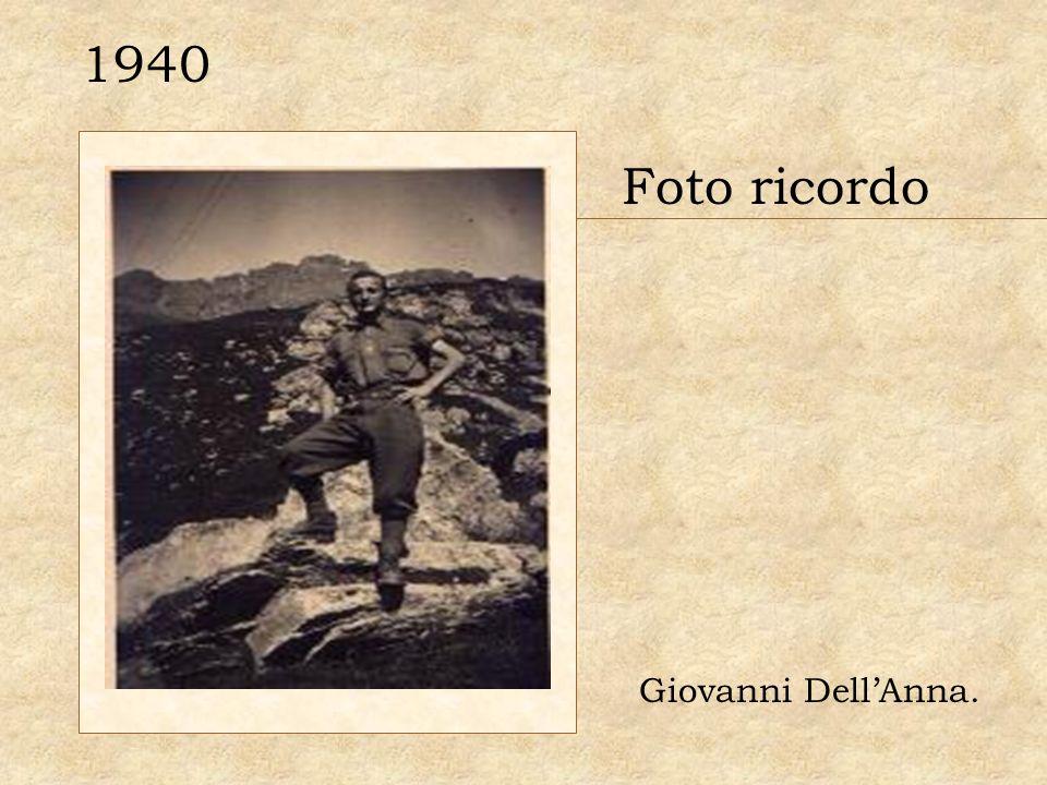 1940 Foto ricordo Giovanni DellAnna.