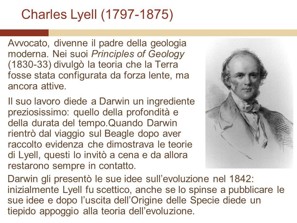 Avvocato, divenne il padre della geologia moderna. Nei suoi Principles of Geology (1830-33) divulgò la teoria che la Terra fosse stata configurata da