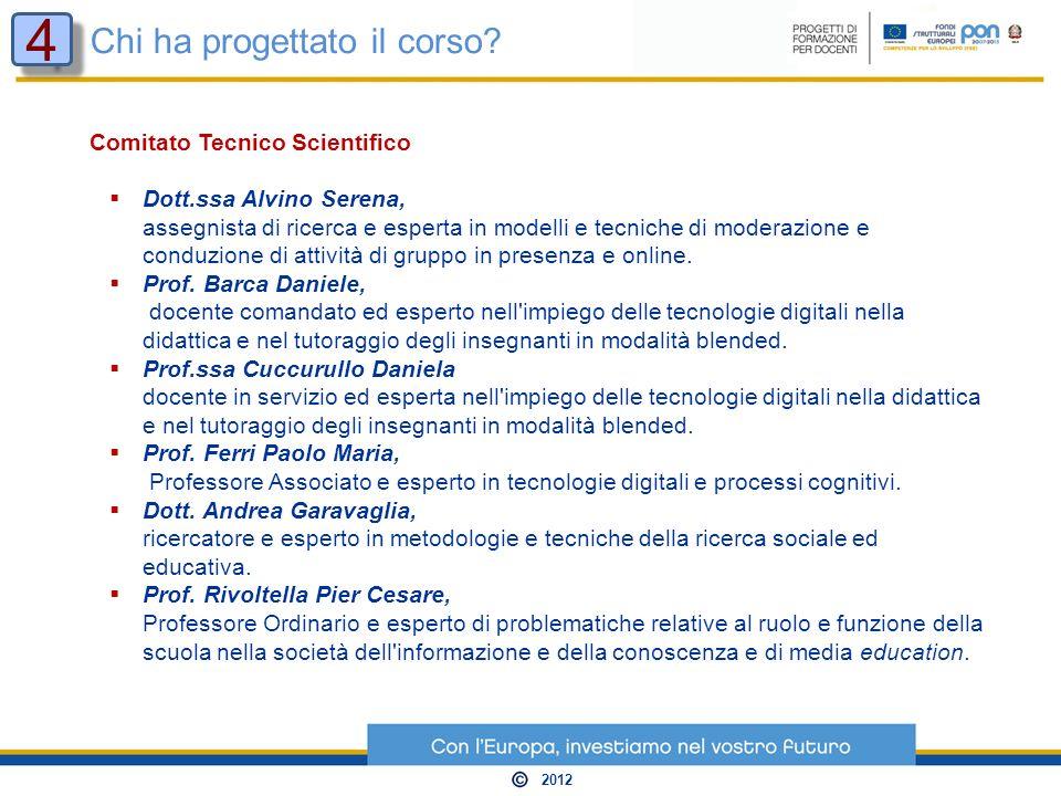 Comitato Tecnico Scientifico Dott.ssa Alvino Serena, assegnista di ricerca e esperta in modelli e tecniche di moderazione e conduzione di attività di gruppo in presenza e online.