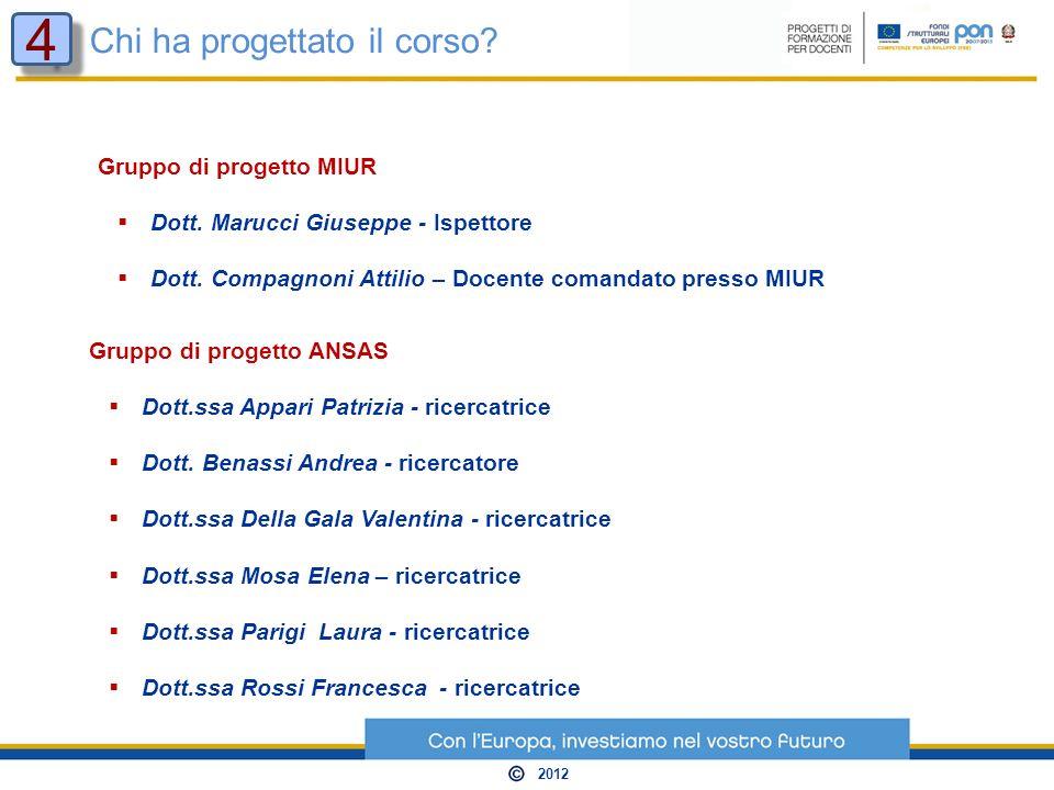 Gruppo di progetto ANSAS Dott.ssa Appari Patrizia - ricercatrice Dott.