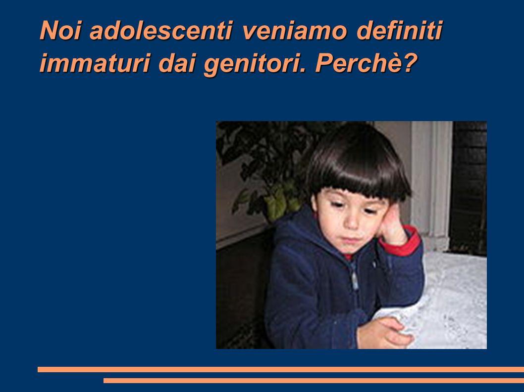 É giusto che i genitori controllano i figli per evitare che vengono emarginati dalla società e puniti dalla legge.