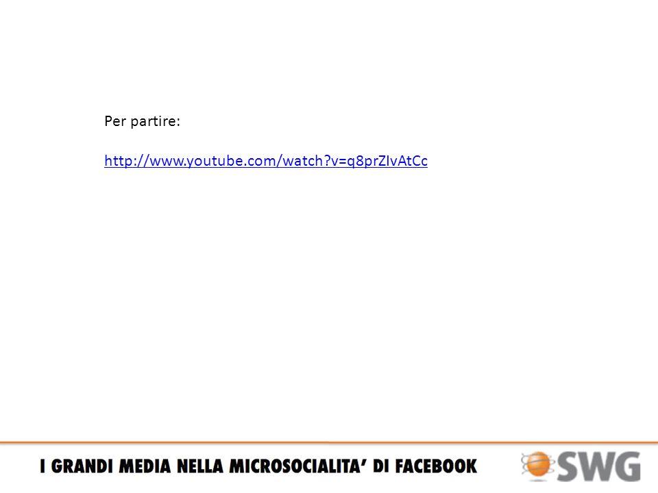In sintesi / Come e perché viene usato Facebook / 1 PER STARE NELLO STESSO POSTO DEGLI AMICI, TUTTO IL GIORNO