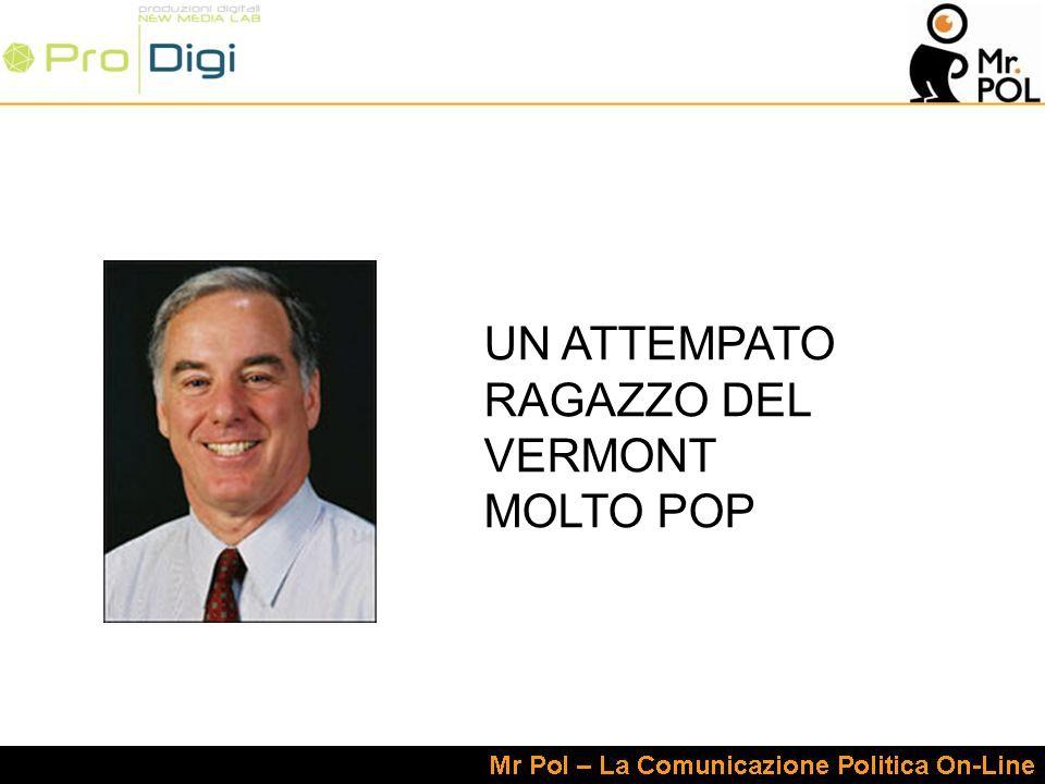 UN ATTEMPATO RAGAZZO DEL VERMONT MOLTO POP