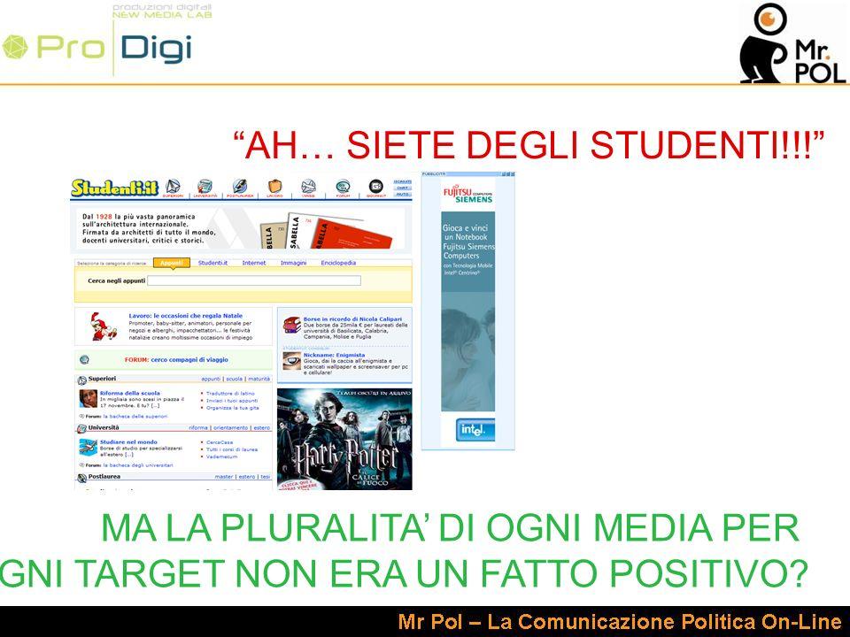 AH… SIETE DEGLI STUDENTI!!.