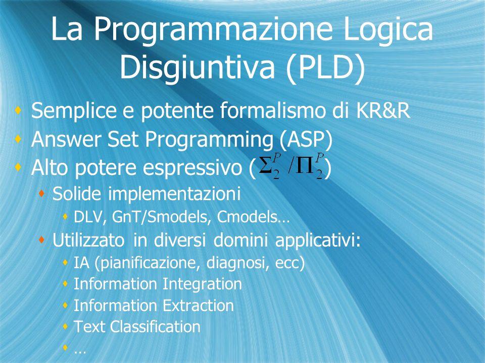Applicazioni Content Categorization OLEX [Curia et al] [Cumbo et al] OntoLog Enterprise Categorizer System, un sistema sviluppato da Exeura s.r.l.