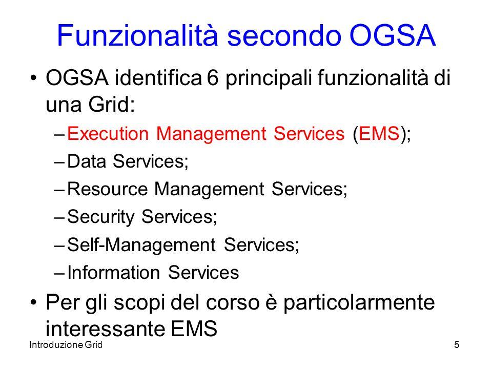 Introduzione Grid16 Requisiti (2) Req.3 After accepting the job the system runs it.
