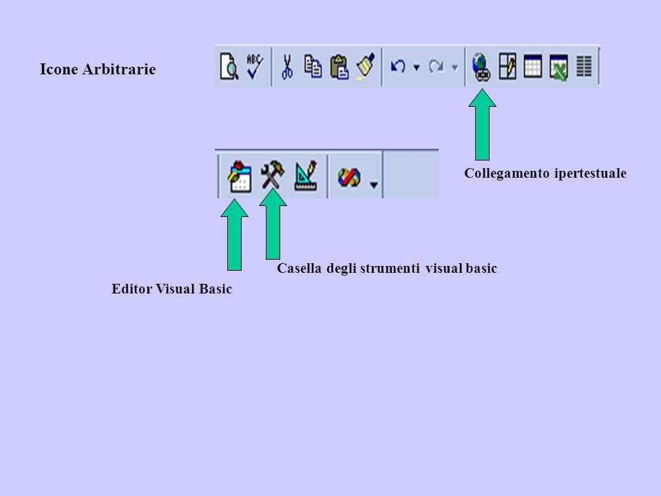 Icone Arbitrarie Editor Visual Basic Casella degli strumenti visual basic Collegamento ipertestuale