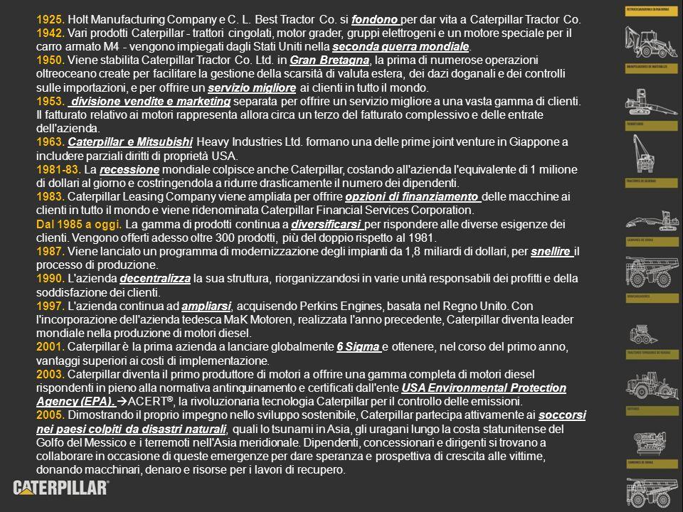 PROFILO STRATEGICO - distribuzione distribuzione a livello internazionale; efficiente rete computerizzata che le ha permesso di consegnare la merce il giorno successivo; Ritiro parti e attrezzature invendute; In caso di realizzazione di nuovi prodotti: scorta di pezzi di ricambio per 2 mesi; Fornitura gratuita se consegne in ritardo;