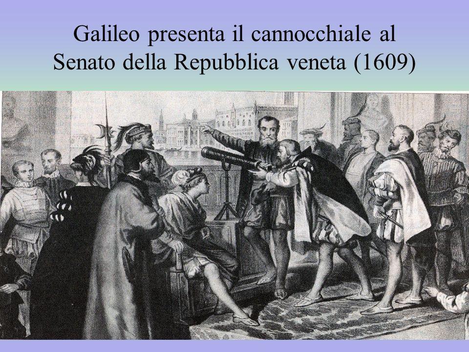Galileo presenta il cannocchiale al Senato della Repubblica veneta (1609)