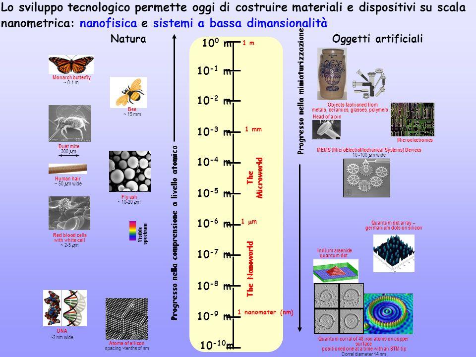 10 0 m 10 -1 m 10 -2 m 10 -3 m 10 -4 m 10 -5 m 10 -6 m 10 -7 m 10 -8 m 10 -9 m 10 -10 m 1 m 1 mm 1 m 1 nanometer (nm) The Microworld The Nanoworld Pro