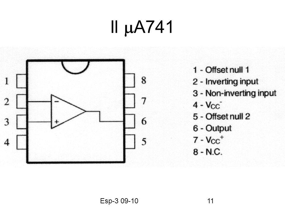 Esp-3 09-1011 Il A741